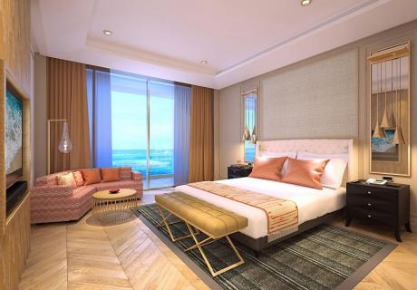 Two Bdrm Family Sea View Suite